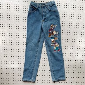 Disney Bottoms - Vintage Disney High Waisted Jeans